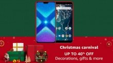 Amazon Christmas Sale: Get up to 40% off on bestselling smartphones