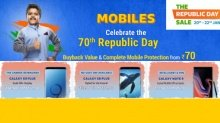 Flipkart Republic Day sale: Special discounts on Samsung smartphones