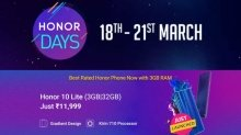 Flipkart Honor Days Sale: Avail offers on Honor smartphones