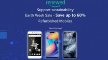Amazon Earth Week Sale offers up to 70% off on refurbished smartphones