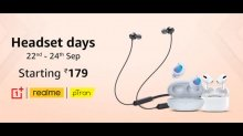 Amazon Headsets Days: Discounts On Headphones, Earbuds, And More