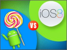 Android 5.0 Lollipop Vs iOS 8: Who wins the Mobile OS War?