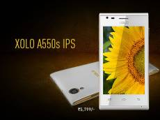 Xolo A550s IPS Gets Listed On Official Website For Rs 5,999