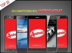 Top 20 Xolo Android KitKat OS Supporting Smartphones to Buy In India