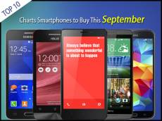 10 Top of the Charts Smartphones to Buy This September