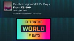 Flipkart Celebrates World TV Days: Smart TVs From Mi, Samsung, VU, LG, TCL, BPL, Motorola And More