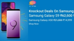 Flipkart Samsung Carnival Sale: Discounts You Can Avail On Galaxy A50, Galaxy S9, Note 10 And More