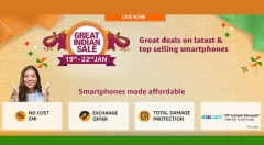 Amazon Great Indian Festival Sale: Exchange Offers On Samsung, LG, Redmi, OnePlus and More Mobiles