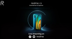 Realme C3 India Launch: Watch The Live Streaming Here