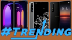 Last Week Most Trending Smartphones: Sony Xperia 1 II, Galaxy S20 Ultra, LG V60 ThinQ And More