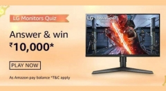 Amazon LG Monitors Quiz Answers: Win Rs. 10,000 Amazon Pay Balance