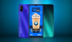 Tecno Launches Spark Go 2020 Smartphone With 5,000mAh Battery For Rs. 6,499