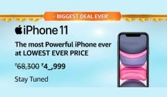 Amazon Great Indian Festival Sale 2020 Offers On iPhone 11, Samsung Galaxy S10, OnePlus 8 5G