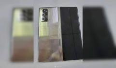 Samsung Galaxy W21 5G Leaked Live Image Reveals Design