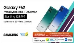 Samsung Galaxy F62 Launched with #FullOnSpeedy Performance With Flagship 7nm Exynos 9825