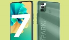 Tecno Spark 7 With 16MP Dual Camera Announced In India ; Price Starts At Rs. 6,999