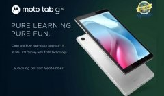 Moto Tab G20 Specifications Confirmed: Stock Android Tablet Incoming