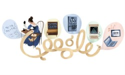 Google Doodles Evolution of Computers On 197th Birthday of Ada Lovelace