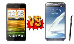 HTC Butterfly vs Samsung Galaxy Note 2: Android Phablet Shootout Begins