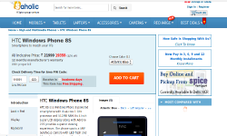 HTC 8S Windows Phone 8 Handset Available in Saholic at Rs 19,359: Is It Worth Buying?
