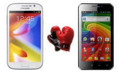 Samsung Galaxy Grand vs Micromax A101: Can the Micromax Offering Challenge Samsung's Reign?