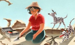 Google: Mary Leakey Doodle Out Today To Celebrate British Archaeologist 100th Birthday