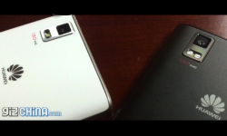 Huawei Ascend P2 Image Leaks Showing 13MP Camera, Rounded Back Panel and More
