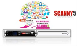 Portronics Scanny 5 Launched at Rs 6999, Scans 1200 Pages in One Charge