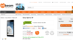 Xperia SP up for Pre Order on Infibeam at Rs 25490: 5 Reasons to Buy Xperia Z Younger Kin