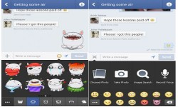 Facebook Messenger for Android Updates With Cool Stickers on Chat Heads