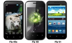 Fly F8s, F45s, F51, F40: 1 Tablet And 3 Android Smartphones Launched at Price Starting Rs 4500