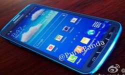 Galaxy S4 Active: Arctic Blue Variant Leaks Online Touting 8 MP Camera and Waterproof Build