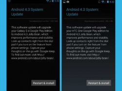 Samsung Galaxy S4 and HTC One Also Receive Android 4.3 Update