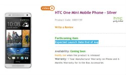 HTC One Mini To Launch in India by August End: A Direct Threat To Samsung Galaxy S4 Mini