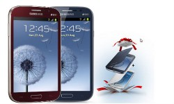 Samsung Galaxy Grand Duos Now Available in Brown and Red Colors with 2 Free Flip Covers