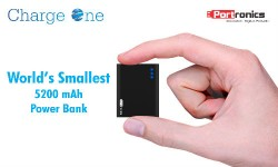 Charge One: Portronics Unveils World's Smallest Charger in India