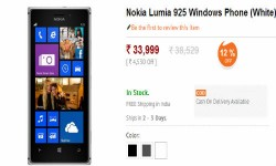 Lumia 925 Now Available Online in India, While Nokia Lumia 825 Leaks Ahead of Launch