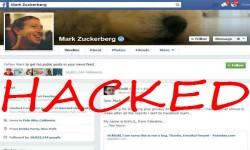 Mark Zuckerberg Facebook Profile Hacked