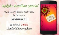 Raksha Bandhan Special: Share Your Favorite Cell Phone Picture with GizBot And Win A Smartphone