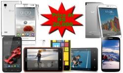 Top 10 Latest Smartphones To Buy Below Rs 20,000