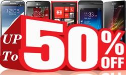 Best Exclusive Deals: Top Smartphones with Up To 50% OFF