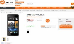 HTC Desire 600c Dual SIM listed as