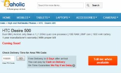 HTC Desire 500 Spotted Online: Quad Core Smartphone Coming Soon to India