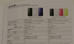 Xperia Z1 'Honami' Mini Codenamed f (SO-02F) Gets Leaked: Tipped To Come In Four Colors