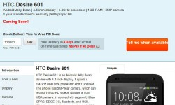 HTC Desire 601 and Desire Q Tipped To Be launched Soon in India