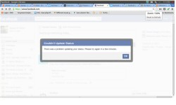 Facebook Outage: Does Not Allow Users To Update Status Messages Globally