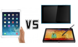 Nokia Lumia 2520 vs Apple iPad Air vs Samsung Note 10.1: Flagship Tablet Face Off