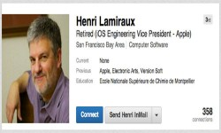 Henri Lamiraux, Head of iOS Engineering Quits Apple