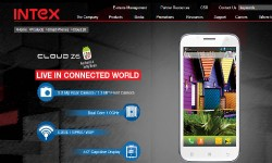 Intex Cloud Z6: Full Specs Finally Out On Company's Official Website