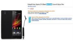Sony Xperia Z1S Cases From Kolay Hint at November 26 Launch